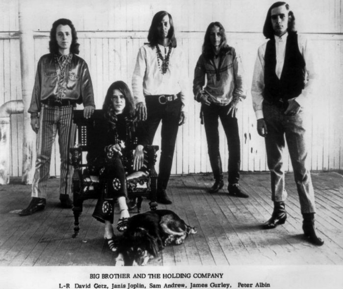 Janis Joplin - Big Brother and the Holding Company  (Janis Joplin, Peter Albin, Sam Andrew, David Getz, James Gurley)