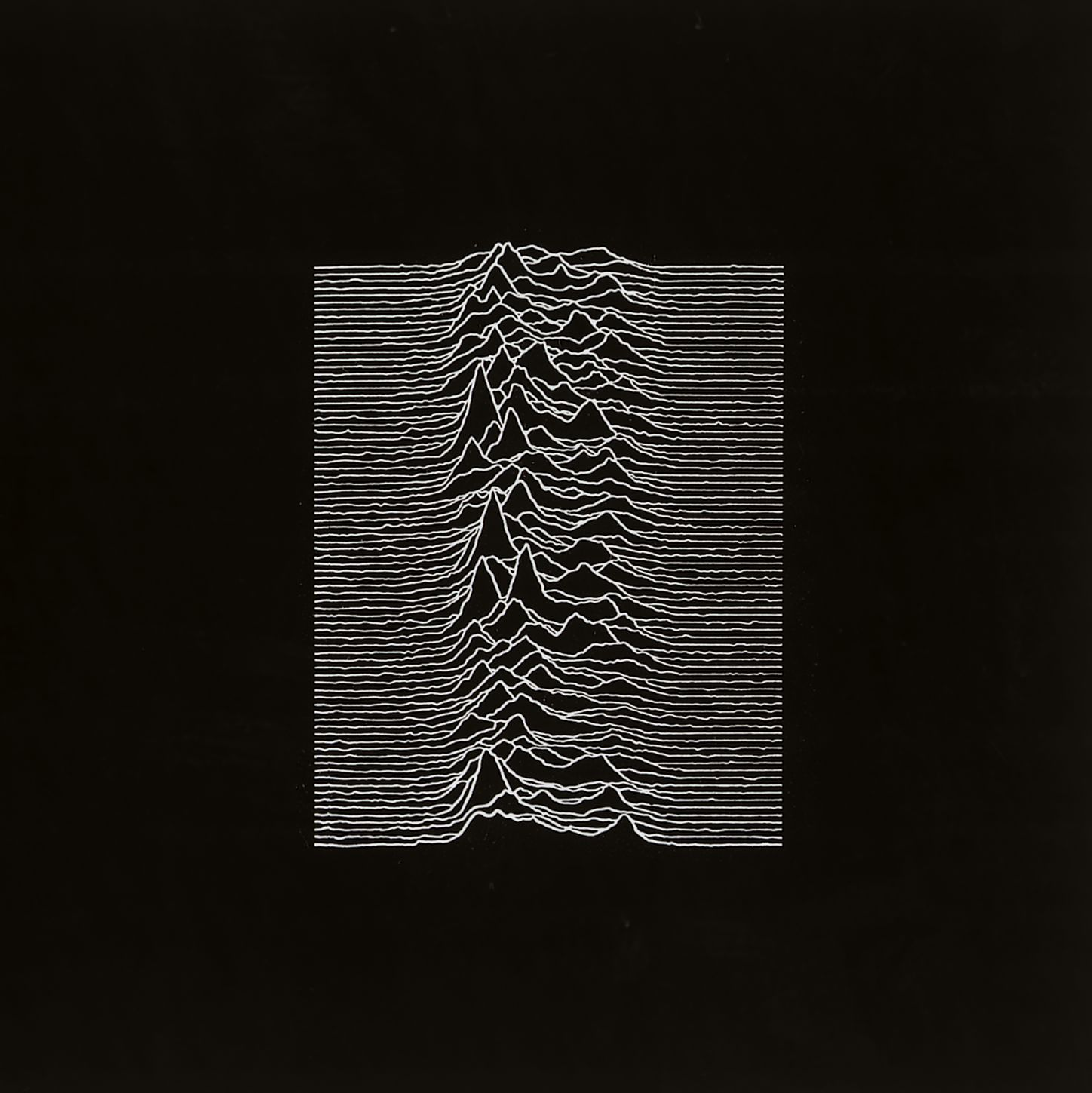 Album Cover : Joy Division - Unknown Pleasures - 1979