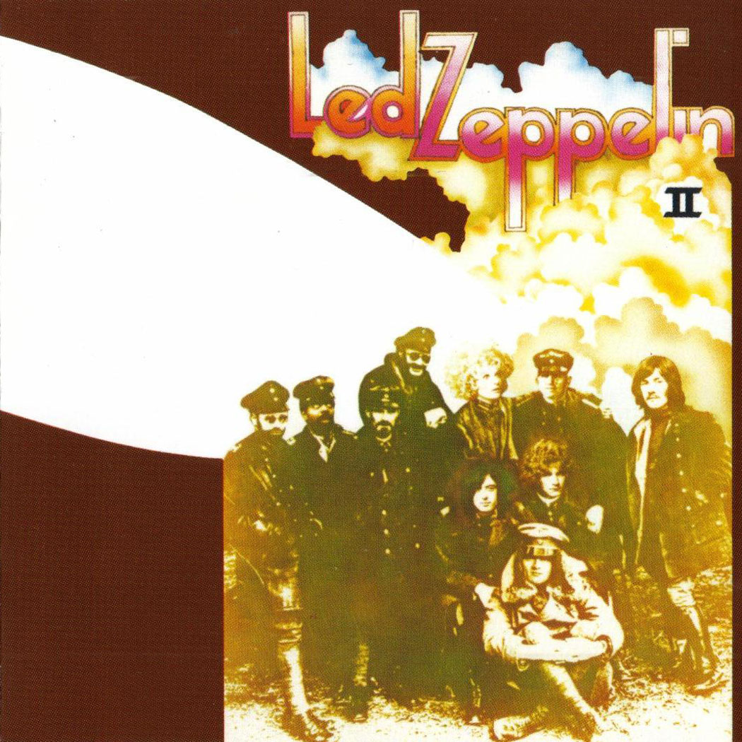 Pochette d'Album : Led Zeppelin - II The Brown Bomber - 1969