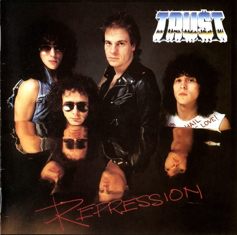 Album Cover : Trust - Repression - 1980